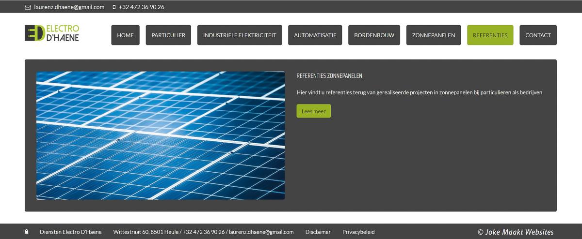 Een makkelijke website, duidelijke website en snelle website voor installateurs van zonnepanelen