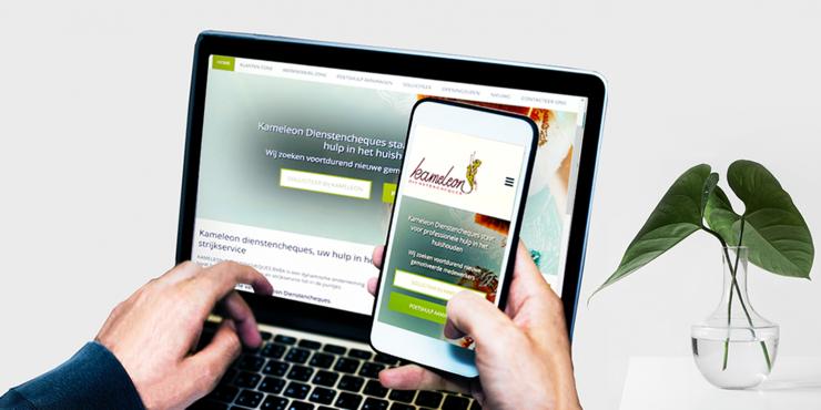 Makkelijke, duidelijke en snelle website voor ondernemingen die poetshulp of huishoudhulp aanbieden