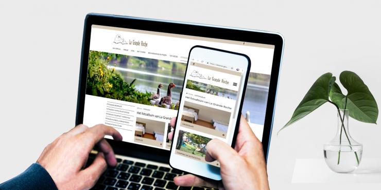 Makkelijke, duidelijke en snelle website voor verhuur van vakantiehuizen, chalets, campings, B&B's, ...