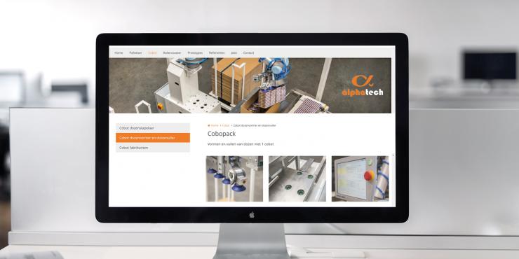 Makkelijke, duidelijke en snelle website voor bedrijven in machinebouw en onderhoud