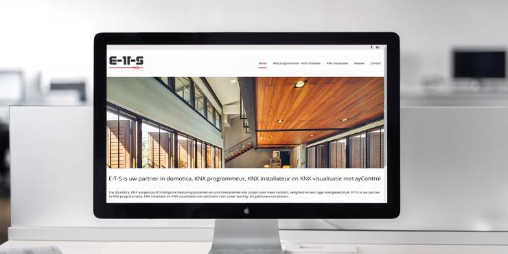 Makkelijke, duidelijke en snelle website voor elektriciens in domotica, Home Control Systems & gebouwen automatisatie