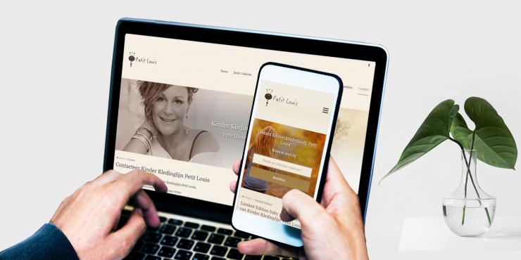 Makkelijke, duidelijke en snelle website voor kledingwinkels
