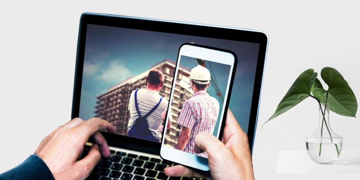 Makkelijke, duidelijke en snelle website voor architecten en bouwondernemingen in nieuwbouw als renovatie