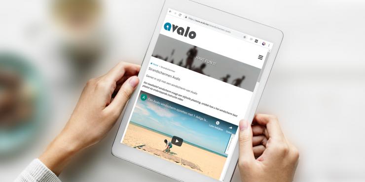 Makkelijke, duidelijke en snelle website voor fabrikanten en leveranciers van strandartikelen